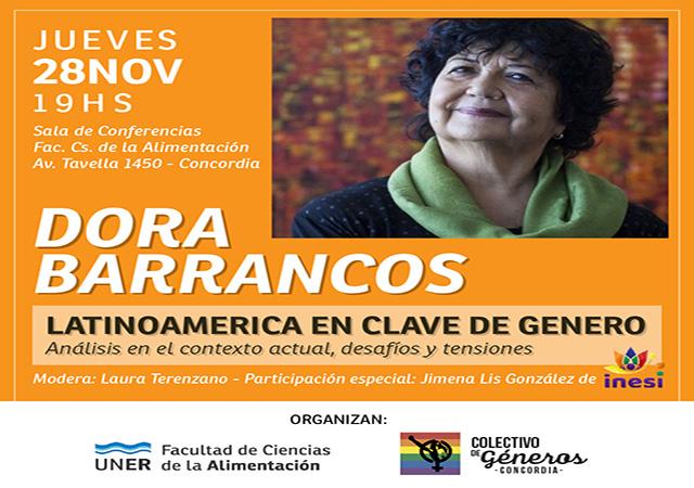 Concordia: la socióloga Dora Barrancos disertará sobre Latinoamérica en clave de género - Análisis Digital