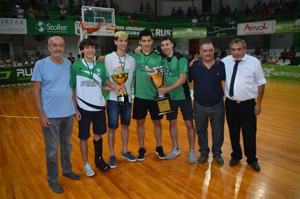 Estudiantes de Concordia recibió la Copa Entre Ríos Challenger - Análisis Digital