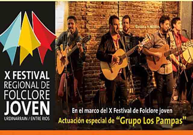 El Grupo Los Pampas cerrará el Festival Regional de Folklore Joven en Urdinarrain - Análisis Digital