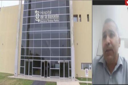 Jefe de la Terapia Intensiva del Hospital de la Baxada, Lucas Ketcher
