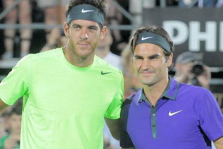 Del Potro y Federer jugarán una exhibición el 20 de noviembre en Buenos Aires