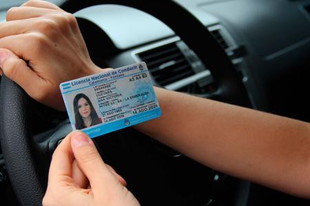 Licencias de conducir.