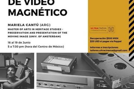 Taller internacional en línea sobre preservación de video magnético