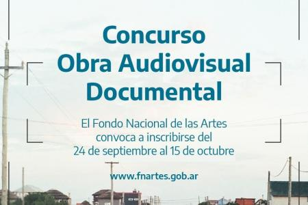 Concurso de Obra Audiovisual Documental