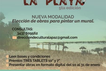 Concurso de pintura de La Paz