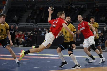 Argentina cayó ante el poderío de Dinamarca en el Mundial de Handball