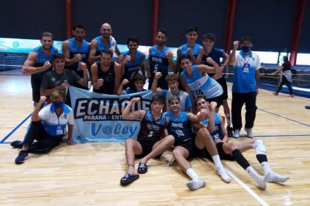 Liga Nacional de Vóley: Echagüe perdió y finalizó décimo; Rowing ganó y quedó 15º