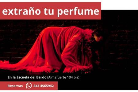 """Extraño tu perfume"""