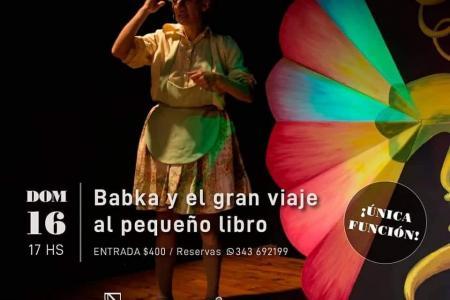 """""""Babka y el gran viaje al pequeño libro"""""""