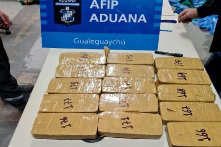 Detuvieron en Uruguay al presunto proveedor de la cocaína secuestrada en el puente