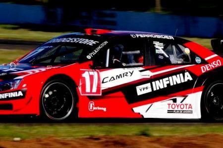 Top Race en Concordia: Matías Rossi fue el más veloz del viernes