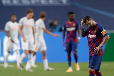 Bayer Múnich le dio una paliza histórica al Barcelona de Messi para avanzar a semifinales