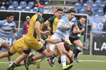 """Rugby: Australia fue mucho para el sueño de """"Los Pumitas"""" en el Mundial Juvenil"""