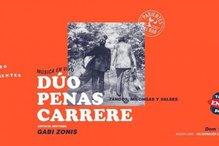 Gabi Zonis y Dúo Penas Carrere en Parientes del Bar