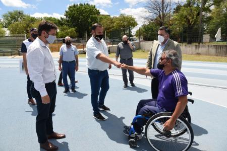 """Atletismo Adaptado: proyectan en """"La Histórica"""" un Open Internacional y un Centro Regional"""