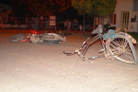 accidente bici-moto