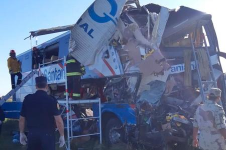 accidente colectivo camión Autovía
