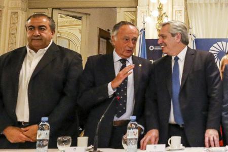 Daer, Acevedo y Fernández, cuando se reunieron en Tucumán.