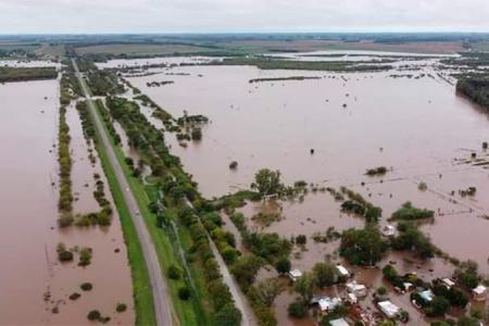 arroyo Nogoyá desborde