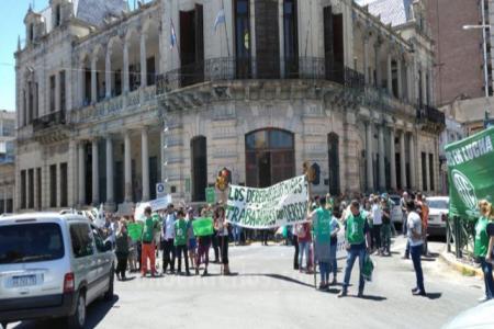 ATE protesta Municipalidad de Paraná