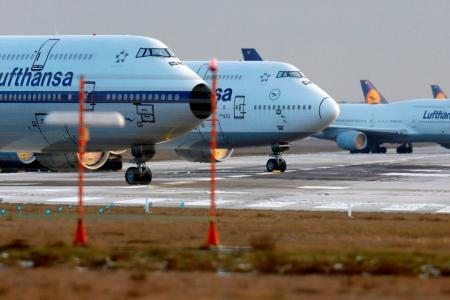 aviones Lufthansa