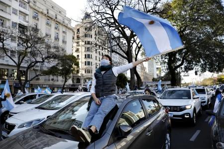 La de hoy es la quinta manifestación en contra del gobierno nacional. Las anteriores fueron el 13 de septiembre, el 17 de agosto, el 9 de julio y el 20 de junio.