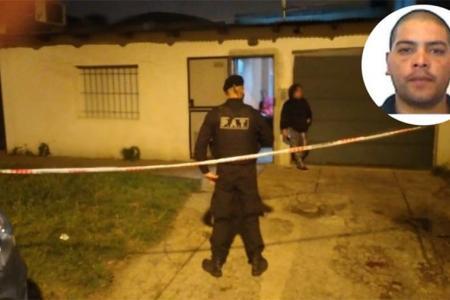 La escena del crimen del Chivo Saravia.