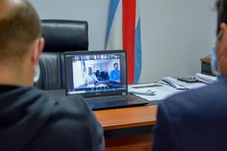 Bastian videoconferencia con Lammens