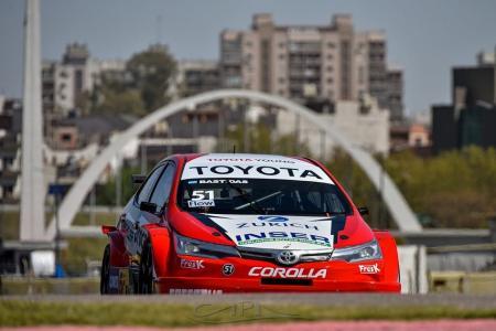 TC 2000: el paranaense Bastidas clasificó segundo y quedó cuarto en el Sprint