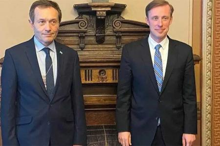 Beliz y Sullivan ratificaron la voluntad de los presidentes Fernández y Biden.