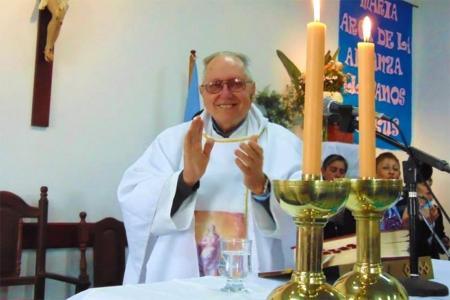 """Padre Humberto Luis María """"Beto"""" Benetti."""