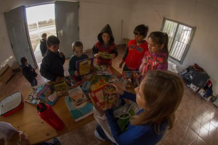 """Biblioteca ambulante para la Niñez"""