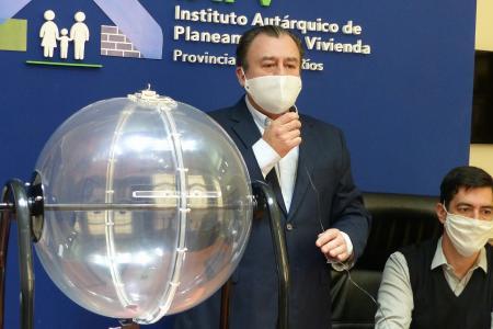 Marcelo Bisogni sorteo viviendas IAPV