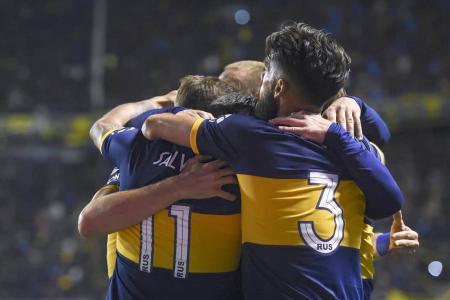 Boca celebra