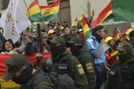 Bolivia Golpe de Estado