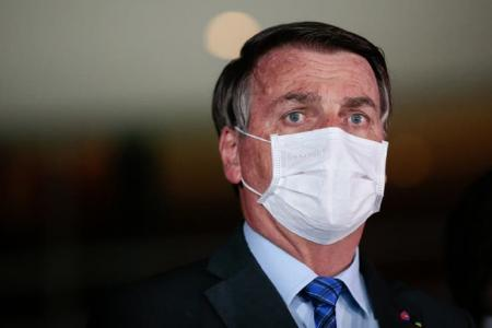 A través de sus redes sociales, Bolsonaro criticó al gobierno de Alberto Fernández