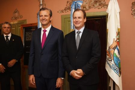 Adán Bahl y Gustavo Bordet