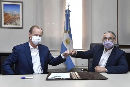 Bordet firmó un convenio con Nación para el desarrollo del sector foresto industrial