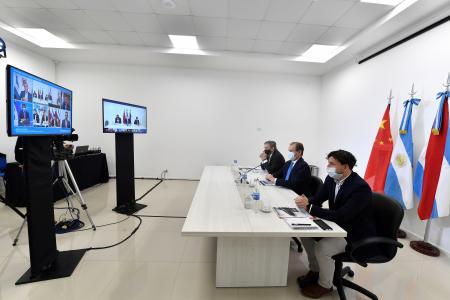 Bordet participó de la primera misión comercial virtual de la Región Centro con China