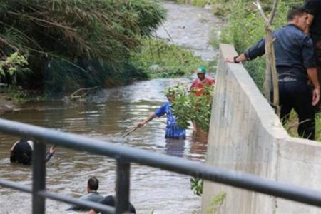 Es intenso el operativo de búsqueda de Fiorella Furlán sobre el arroyo Antoñico y demás zona de influencia. (Foto: Diario Uno).