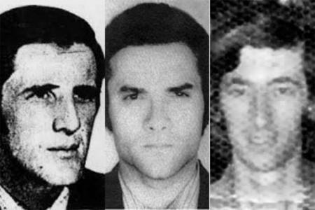 """Rómulo Artieda, Carlos Terenzcuk, y Julio """"Bocha"""" Pereyra pudieron ser identificados y fueron el puntapié inicial de la búsqueda."""