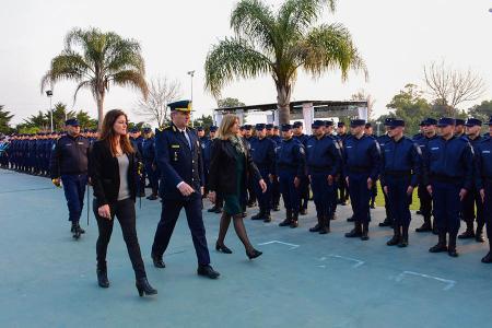 Los 131 nuevos agentes se sumarán a la Fuerza Policial, y en lo inmediato se les dará destino en los 17 Departamentos de la Provincia.