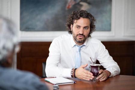 Santiago Cafiero es el jefe de Gabinte.