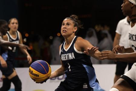 La entrerriana Camila Suárez se despidió de los Juegos Mundiales de Playa