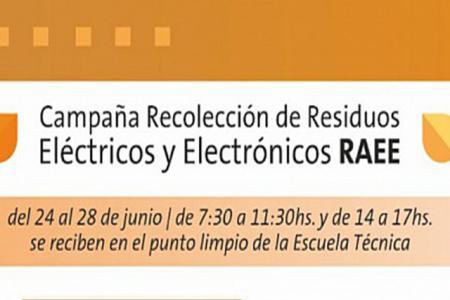 Campaña de Recolección de Residuos Eléctricos y Electrónicos