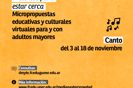 Micropropuestas educativas y culturales
