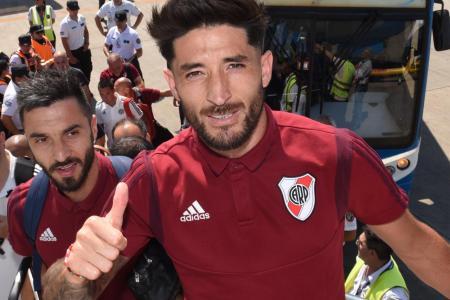 Con el entrerriano Casco, River se instaló en Lima para la final de la Copa Libertadores