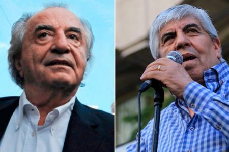 Armando Cavalieri y Hugo Moyano