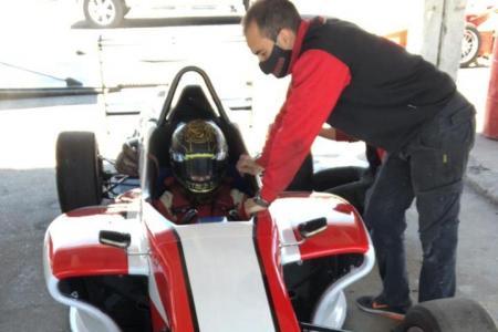 El debutante Bruno Chiappella probó con el Werner Competición en Paraná