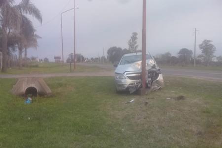 La colisión se produjo en el kilómetro 46 de la RP 20.